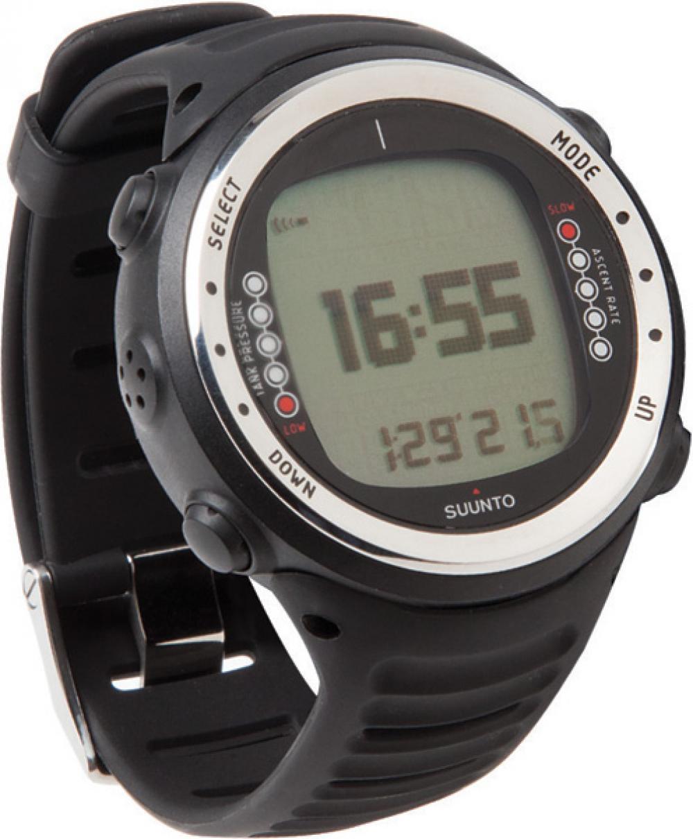 Suunto d4i black with usb scuba diving wrist dive computer digital watch ebay - Suunto dive watch ...