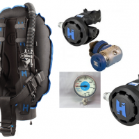 Halcyon Traveler BCD Regulator Package