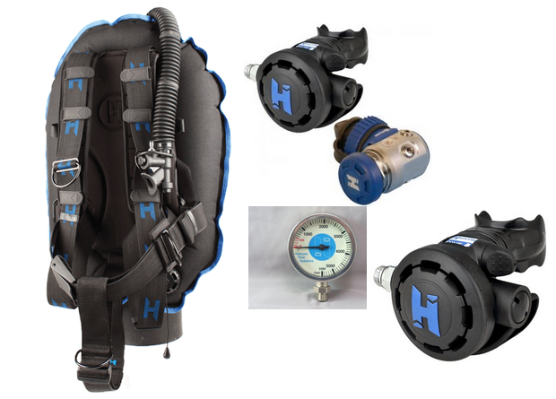 Halcyon traveler bcd regulator package for sale online in canada - Halcyon dive gear ...