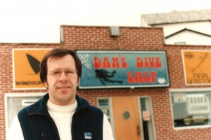 original Dan's location, Scuba Courses