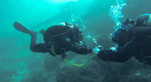 Air Sharing is habit forming skill  divers must be able to do without thinking or changing depth.