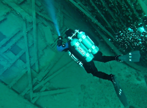 Explore shipwrecks with the right gear, training and comfort level