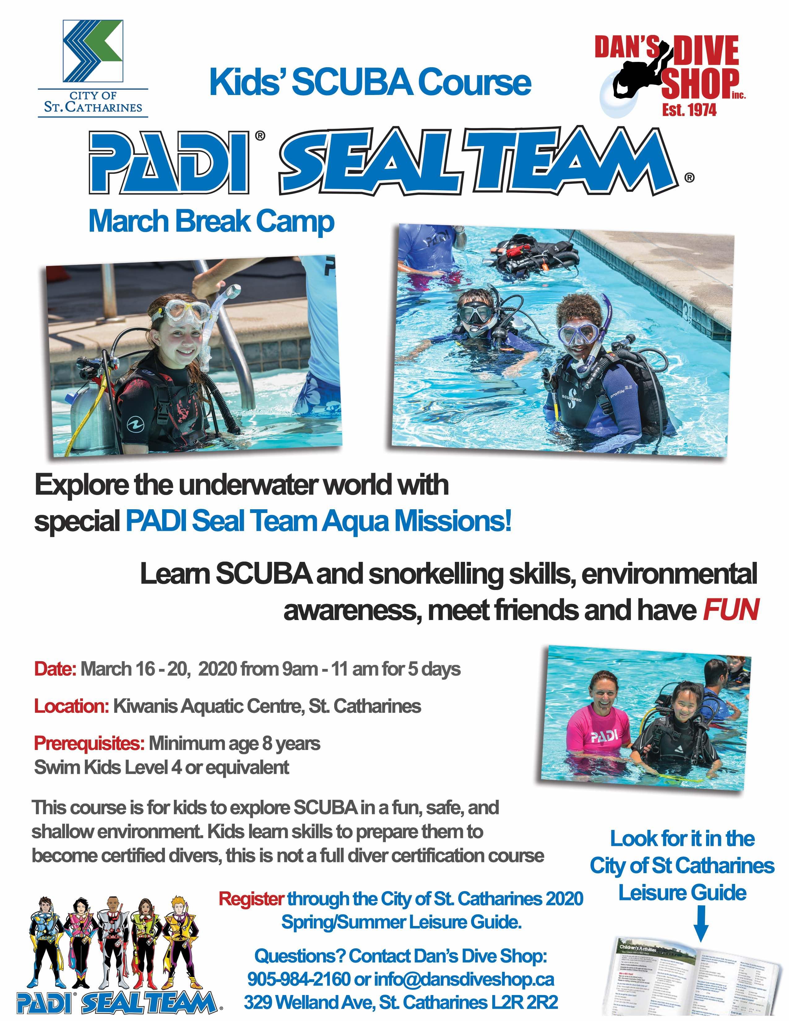 Kids Padi Scuba Diving