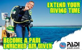 Dive Longer, Feel Better, Upgrade your course to an Enriched Air Nitrox Open Water Course