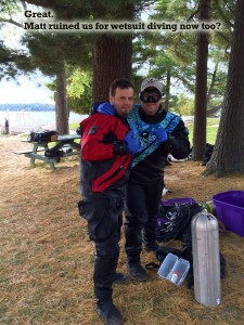Immerse yourself in total diving comfort year round regardless of depth or Temp. Take the Drysuit Specialty Course