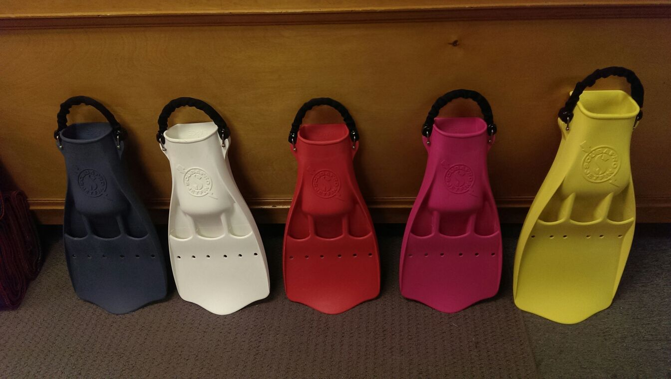 Scubapro Jet Fins available in many different sizes, colours and with or without spring heel straps